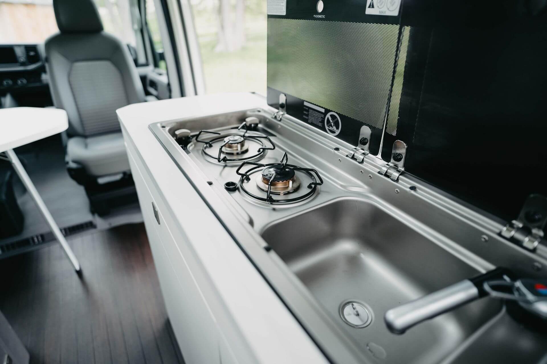 myvanture - VW Grand California Küche