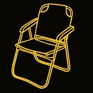 Icon Campingstuhl groß