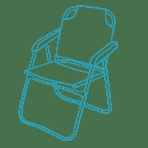 Icon Campingstuhl